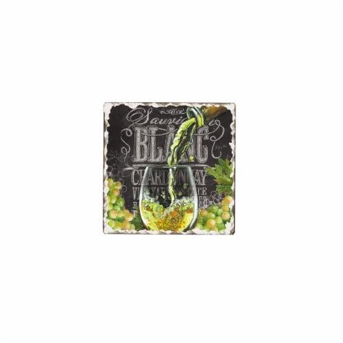 Counter Art CART15517 Chalkboard Wine Trivet Perspective: front