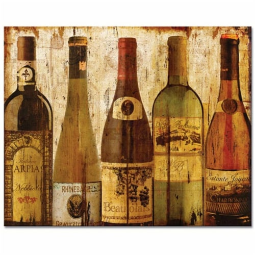 Counter Art CART23156 Wine Samples Glass Cutting Board - 12 x 15 in. Perspective: front