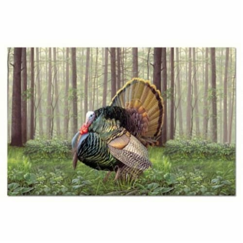 Counter Art CART46978 Game Birds Paper Placemats, Set of 24 Perspective: front