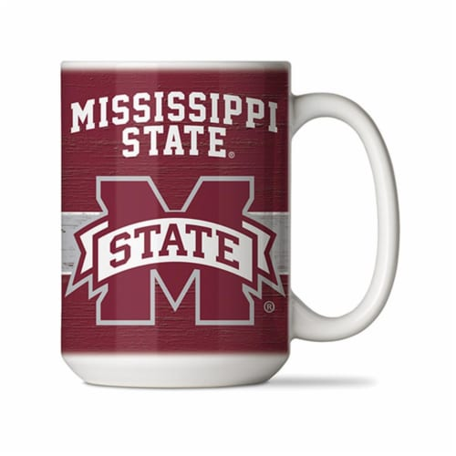 Counter Art CART61499 15 oz Mississippi State Ceramic Mug Perspective: front