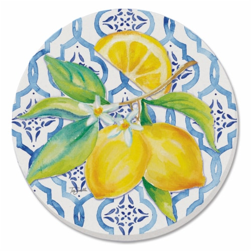 Conimar Lovely Lemons Coaster Perspective: front