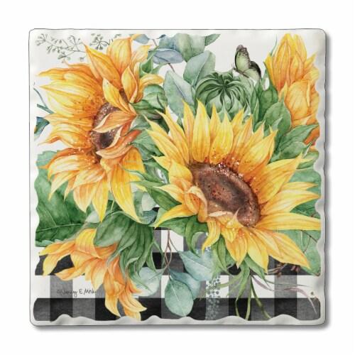 Conimar Sunflower Coasters Perspective: front