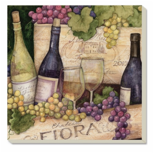 Conimar Wine Crates Coasters Perspective: front