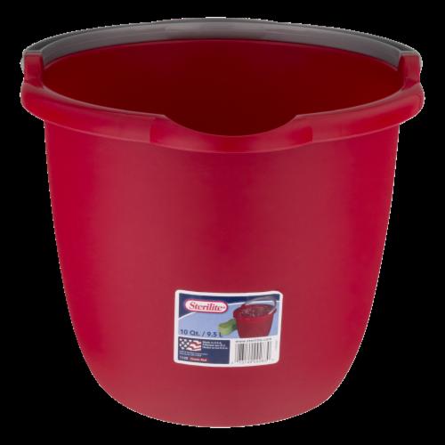 Sterilite Spout Pail - Red Perspective: front