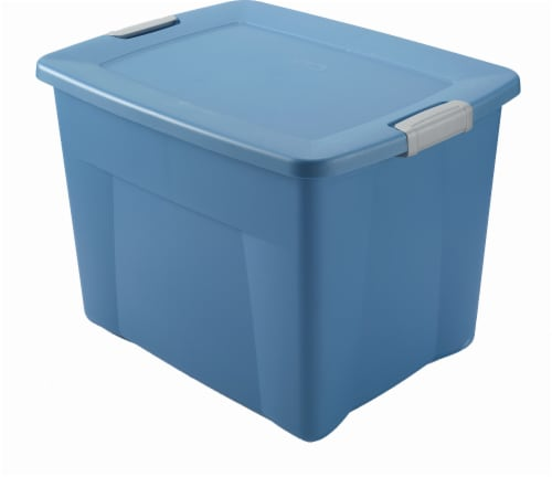 Fred Meyer Sterilite Storage Tote with Latching Lid Lapis 22