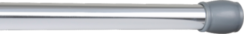 Maytex Mills Luminex Tension Shower Curtain Rod - Silver Perspective: front