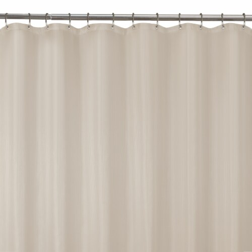 Luminex Waterproof Striped Shower Liner Perspective: front
