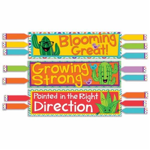 A Sharp Bunch Class Management Mini Bulletin Board Set Perspective: front
