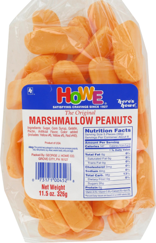 Howe Marshmallow Peanuts Perspective: front