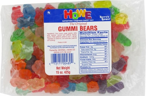Howe Gummi Bears Perspective: front