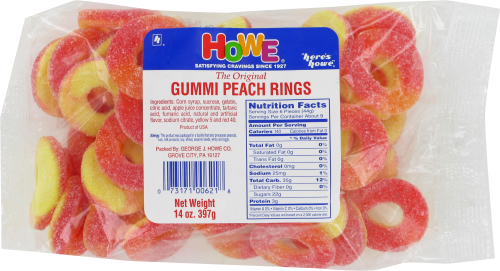 Howe Peach Rings Perspective: front