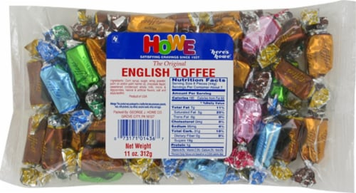 Howe English Toffee Perspective: front