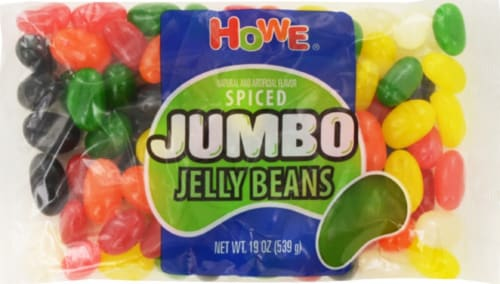 Howe Spiced Jumbo Jelly Beans Perspective: front