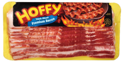 Hoffman Thick Sliced Premium Bacon Perspective: front