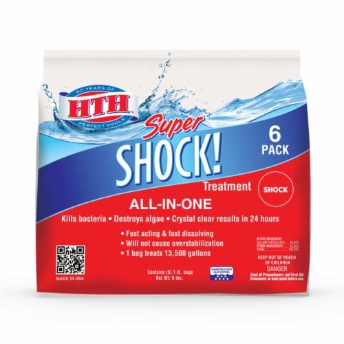 hth Super Granule Shock 6 lb. Perspective: front
