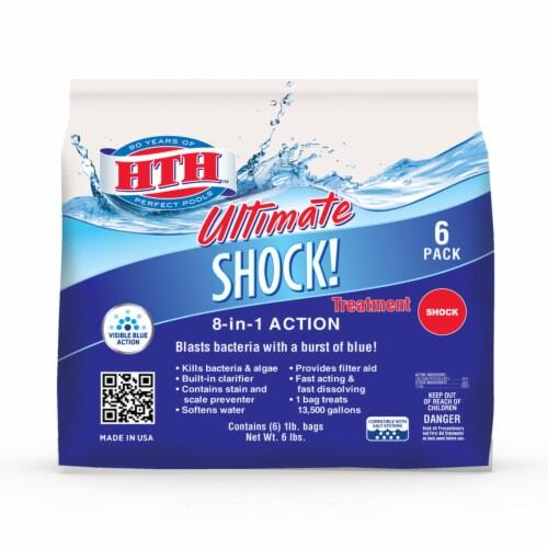 hth Ultimate Granule Shock 6 lb. Perspective: front