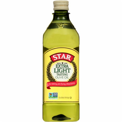 Star Extra Light Olive Oil Perspective: front