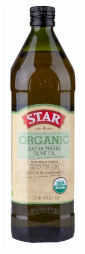 Star Organic Extra Virgin Olive Oil Perspective: front