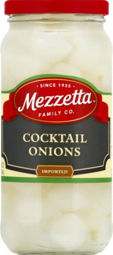 Mezzetta Imported Cocktail Onions Perspective: front