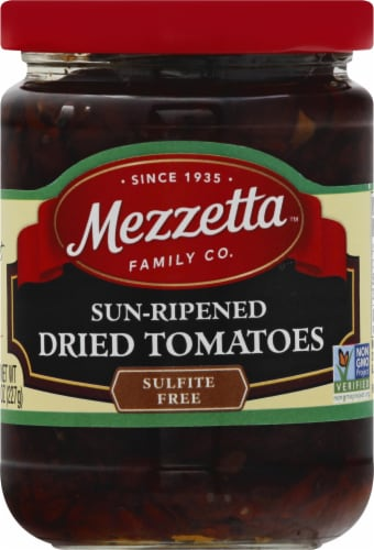 Mezzetta Sun-Ripened Dried Tomatoes Perspective: front