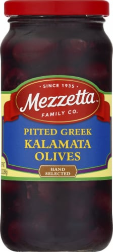 Mezzetta Pitted Greek Kalamata Olives Perspective: front