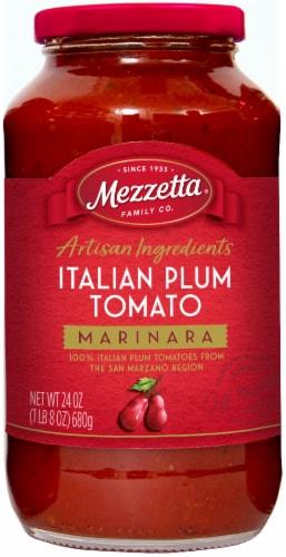 Mezzetta Italian Plum Tomato Marinara Sauce Perspective: front