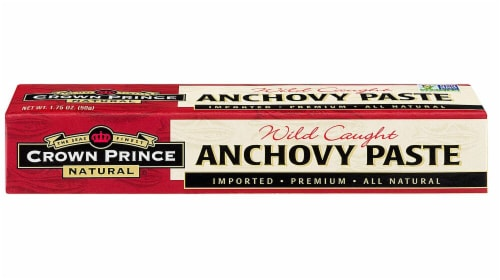Crown Prince  Anchovy Paste Perspective: front