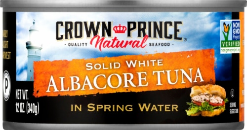 Crown Prince White Albacore Tuna Perspective: front