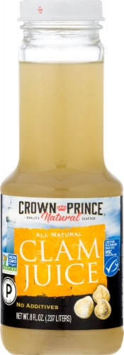 Crown Prince Clam Juice Perspective: front