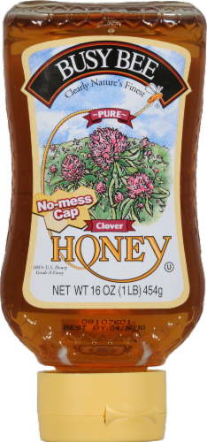Busy Bee Clover Honey Perspective: front