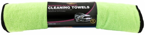 The Detailer's Choice® Microfiber Auto Cloth - 5 pk Perspective: front