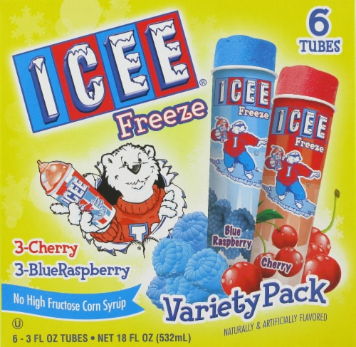 ICEE Freeze Variety Pack Perspective: front