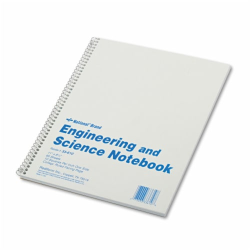 National Notebook,Metric,11x8.5 33610 Perspective: front