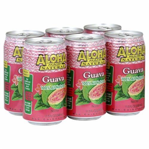 Aloha Maid Guava Nectar Perspective: front