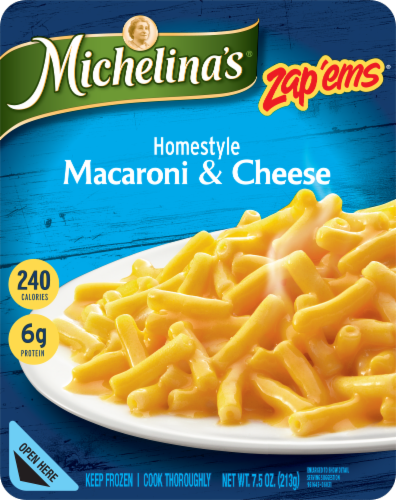 Michelina's Zap'ems Homestyle Macaroni & Cheese Perspective: front