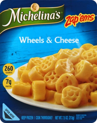 Michelina's Zap'ems Wheels & Cheese Perspective: front