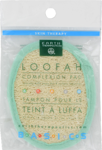 Earth Therapeutics Loofah Complexion Pad Perspective: front
