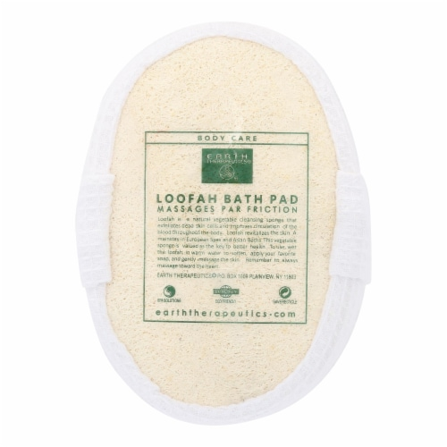 Earth Therapeutics Loofah Bath Pad - 1 Pad Perspective: front