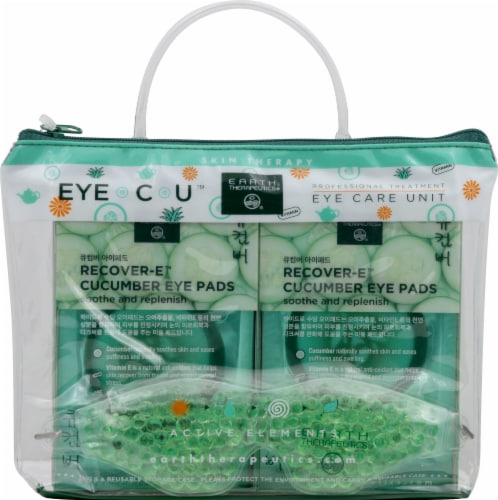 Earth Therapeutics Cucumber Eye Care Unit Kit Perspective: front