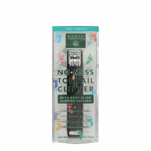 Earth Therapeutics Toenail Clipper with Catcher - 1 Unit Perspective: front