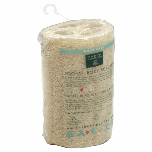 Earth Therapeutics Loofah Body Scrubber Perspective: front