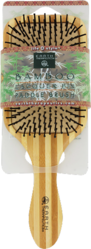 Earth Therapeutics Bamboo Paddle Brush Perspective: front