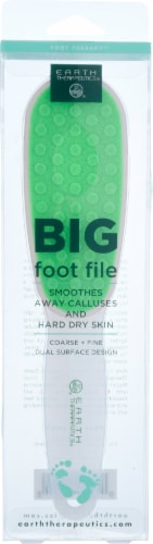 Earth Therapeutics Big Foot File Perspective: front