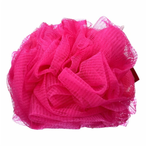 Earth Therapeutics Body Sponge - Rose - Case of 1 - Count Perspective: front