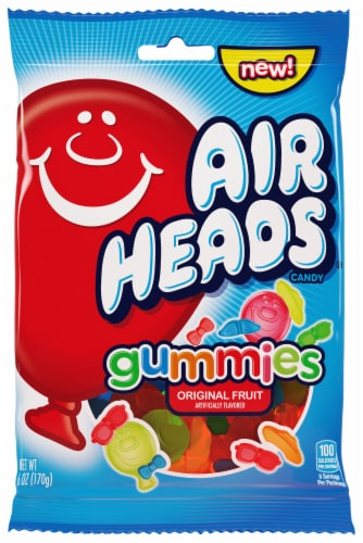 Airheads Original Fruit Gummies Candy Perspective: front