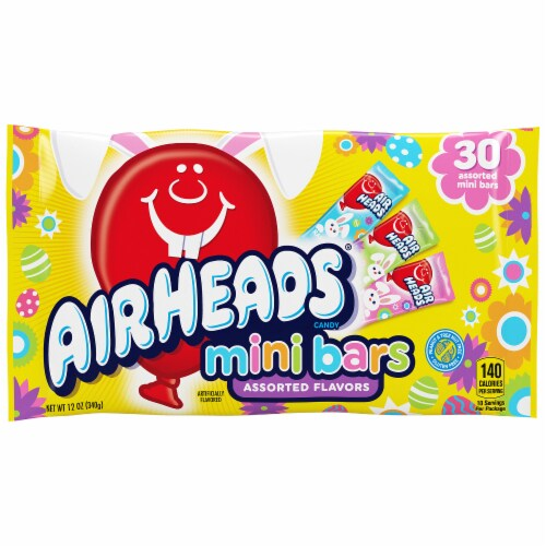 Airheads Easter Assorted Mini Bars Perspective: front