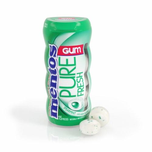 Mentos Pure Spearmint Gum Perspective: front