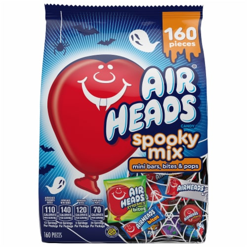 Airheads Spooky Mix Candy Assortment 160 Count Perspective: front