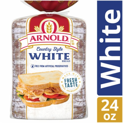 Arnold Country White Bread Perspective: front