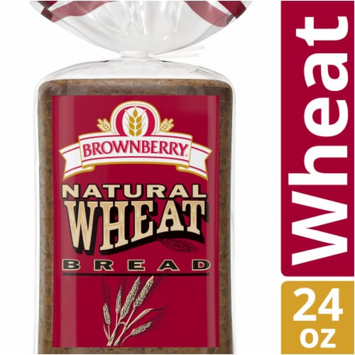 Brownberry Natural Wheat Bread Perspective: front